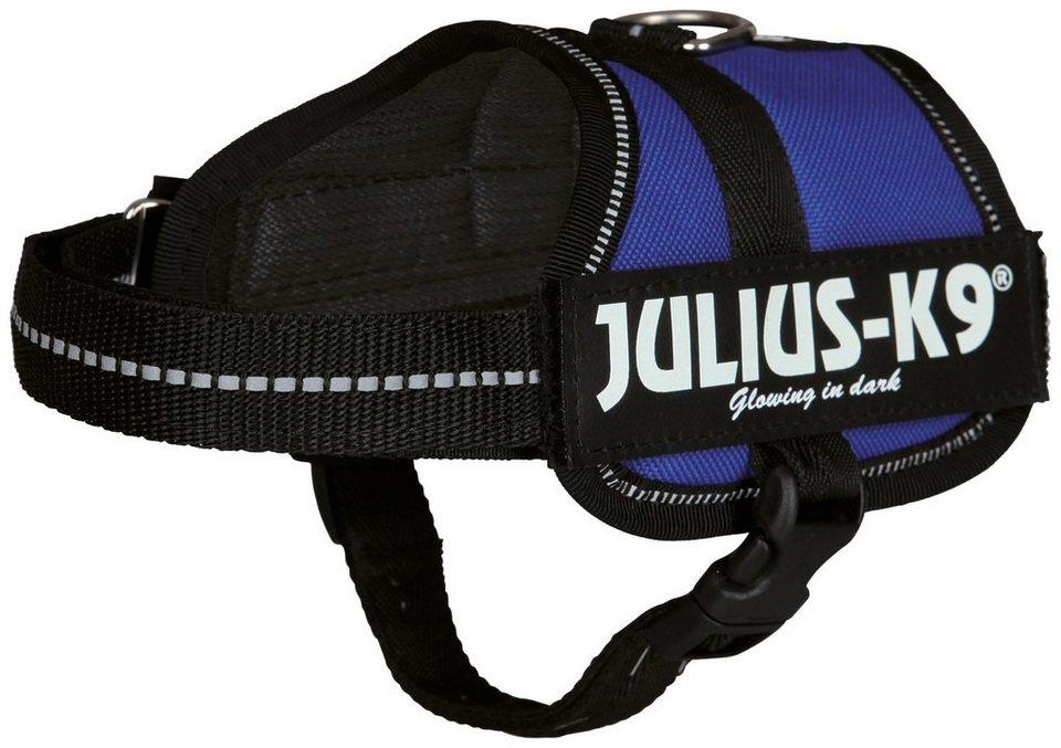Hunde-Geschirr »Julius-K9 Mini/M«, blau, 51-67 cm in blau