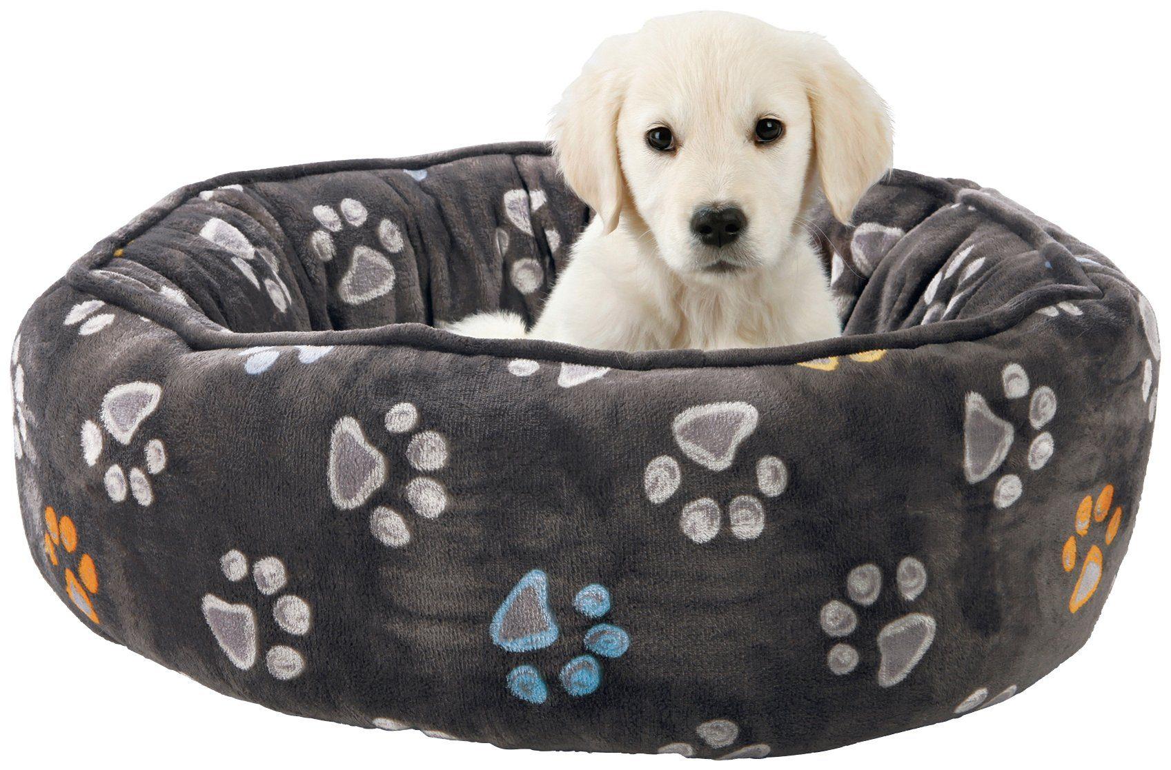 Hunde-Bett »Jimmy«, taupe, Ø: 60 cm