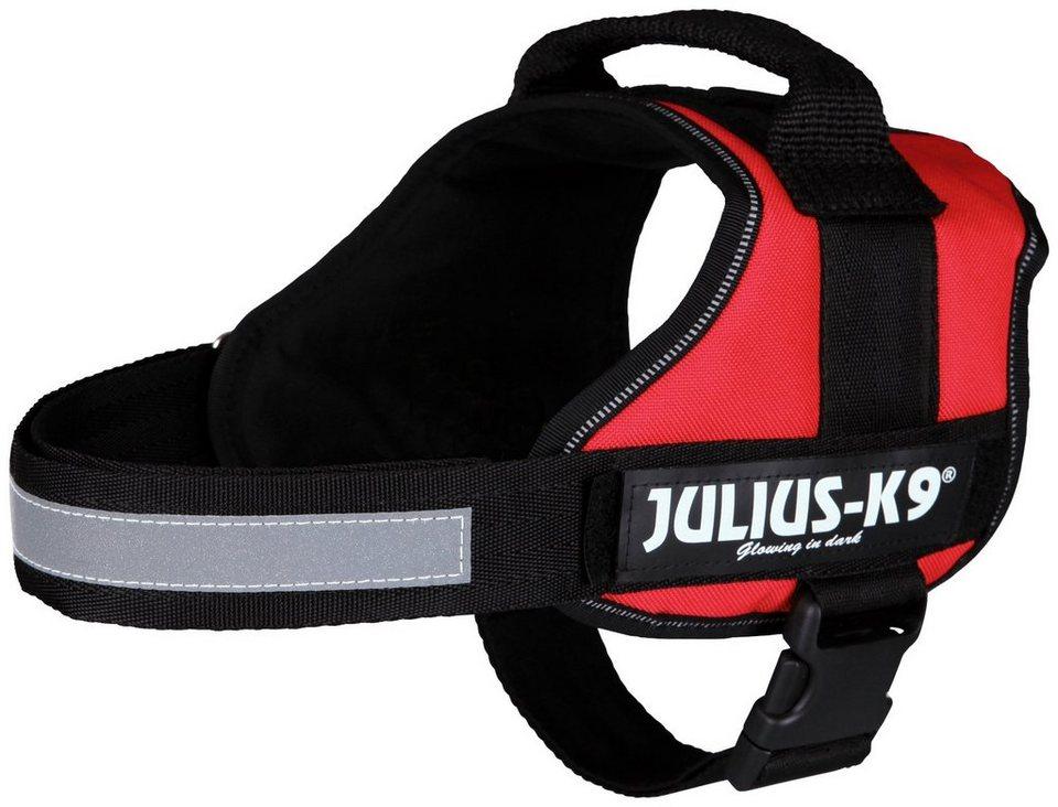 Hunde-Geschirr »Julius-K9 0/M-L«, rot, 58-76 cm in rot