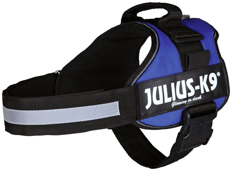Hunde-Geschirr »Julius-K9 1/L«, blau, 66-85 cm in blau