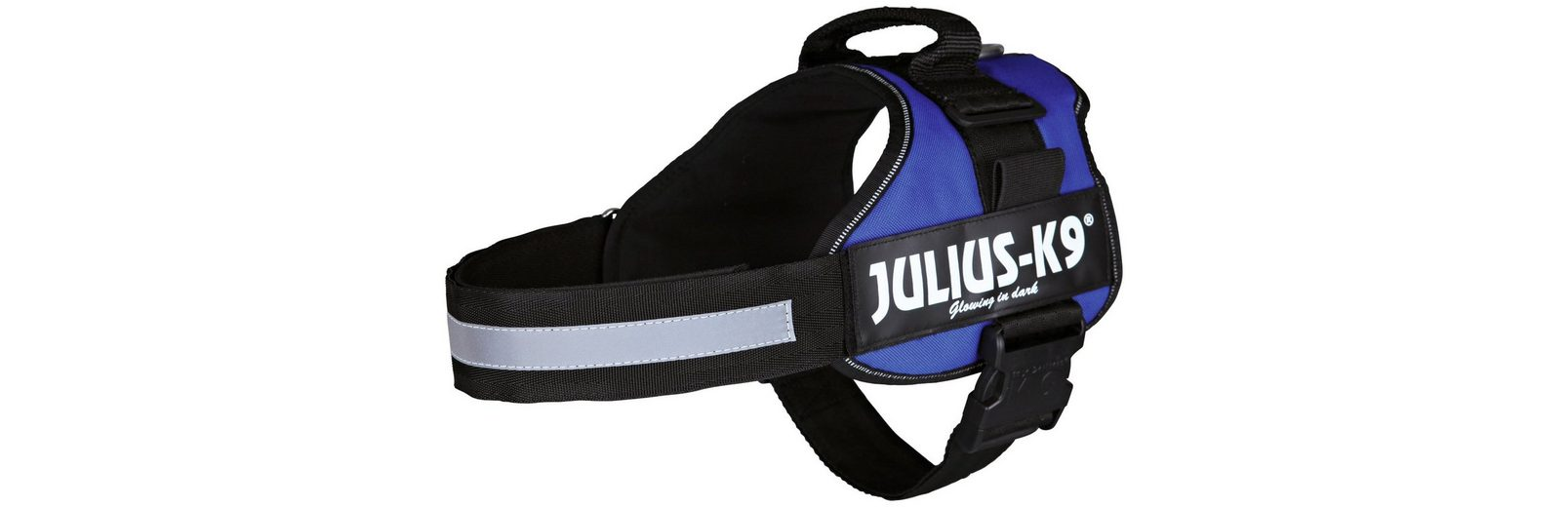 Hunde-Geschirr »Julius-K9 1/L«, blau, 66-85 cm