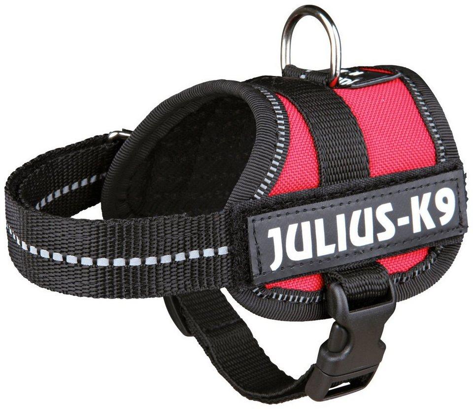 Hunde-Geschirr »Julius-K9 Baby 1/XS«, rot, 30-40 cm in rot