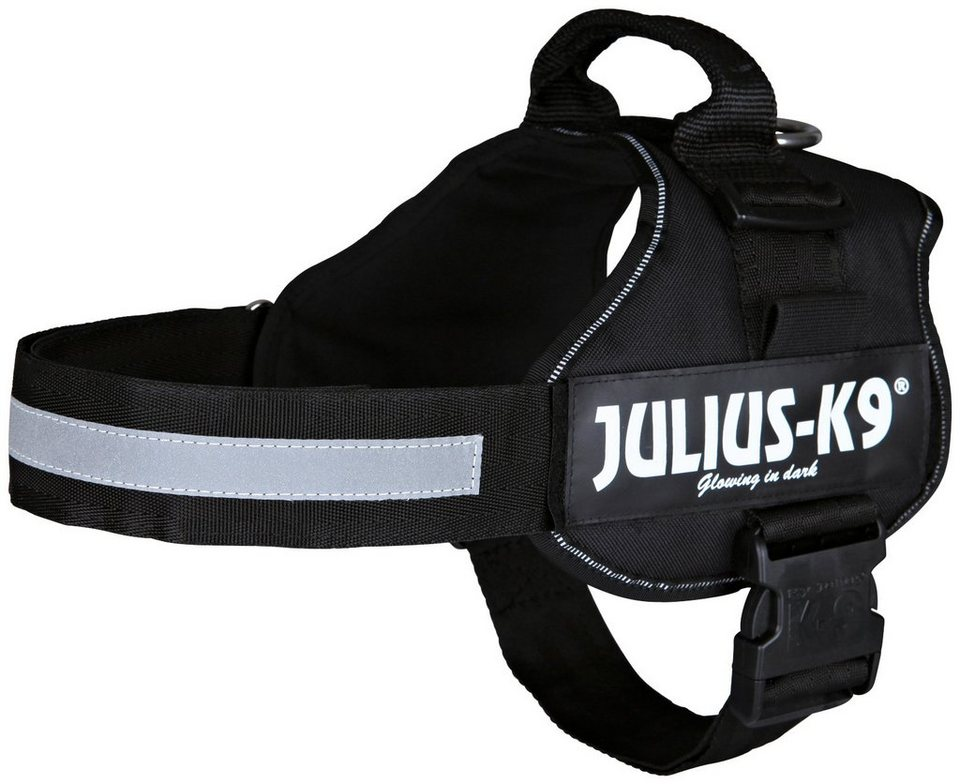 Hunde-Geschirr »Julius-K9 2/L-XL«, schwarz, 71-96 cm in schwarz