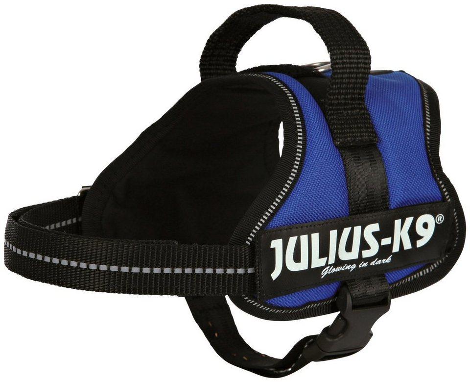 Hunde-Geschirr »Julius-K9 Mini-Mini/S«, blau, 40-53 cm in blau