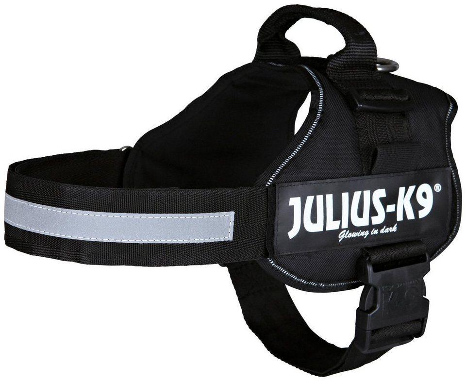 Hunde-Geschirr »Julius-K9 1/L«, schwarz, 66-85 cm in schwarz