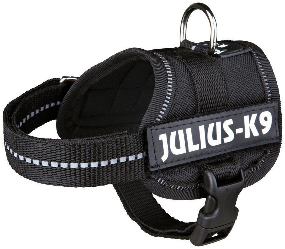 Hunde-Geschirr »Julius-K9 Baby 1/XS«, schwarz, 30-40 cm in schwarz