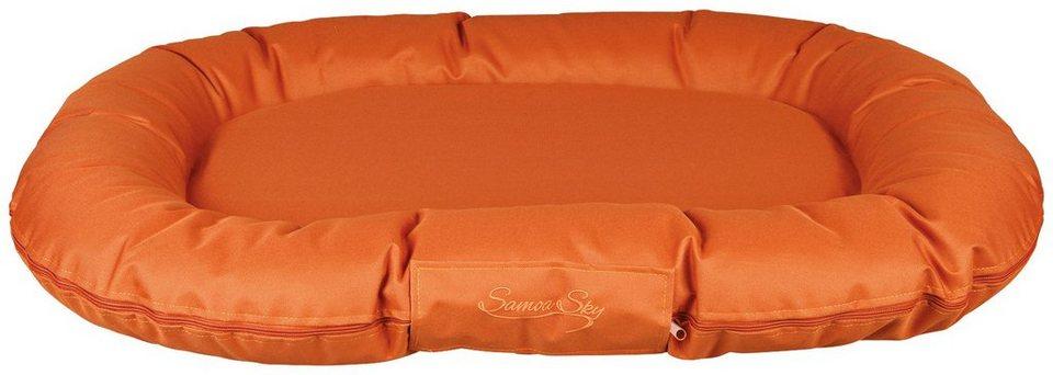 Hundekissen »Samoa Sky«, orange, BxL: 120x95 cm in orange
