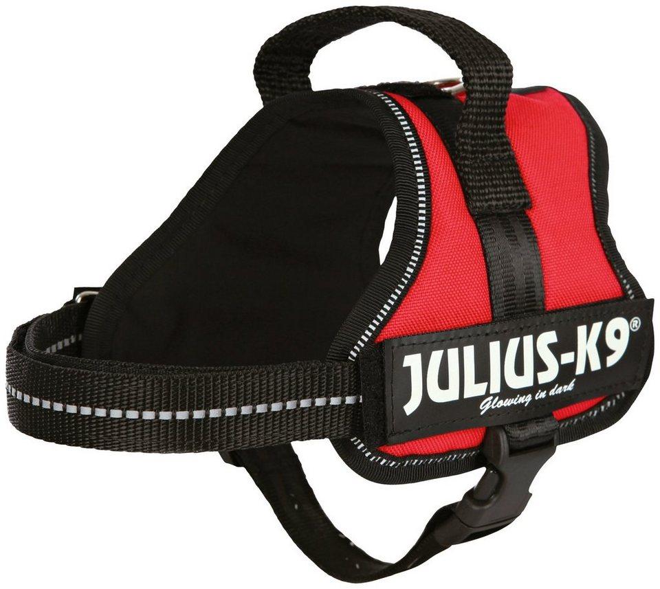 Hunde-Geschirr »Julius-K9 Mini-Mini/S«, rot, 40-53 cm in rot