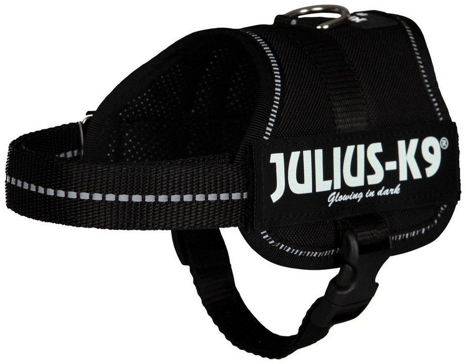 Hunde-Geschirr »Julius-K9 Baby 2/XS-S«, schwarz, 33-45 cm in schwarz