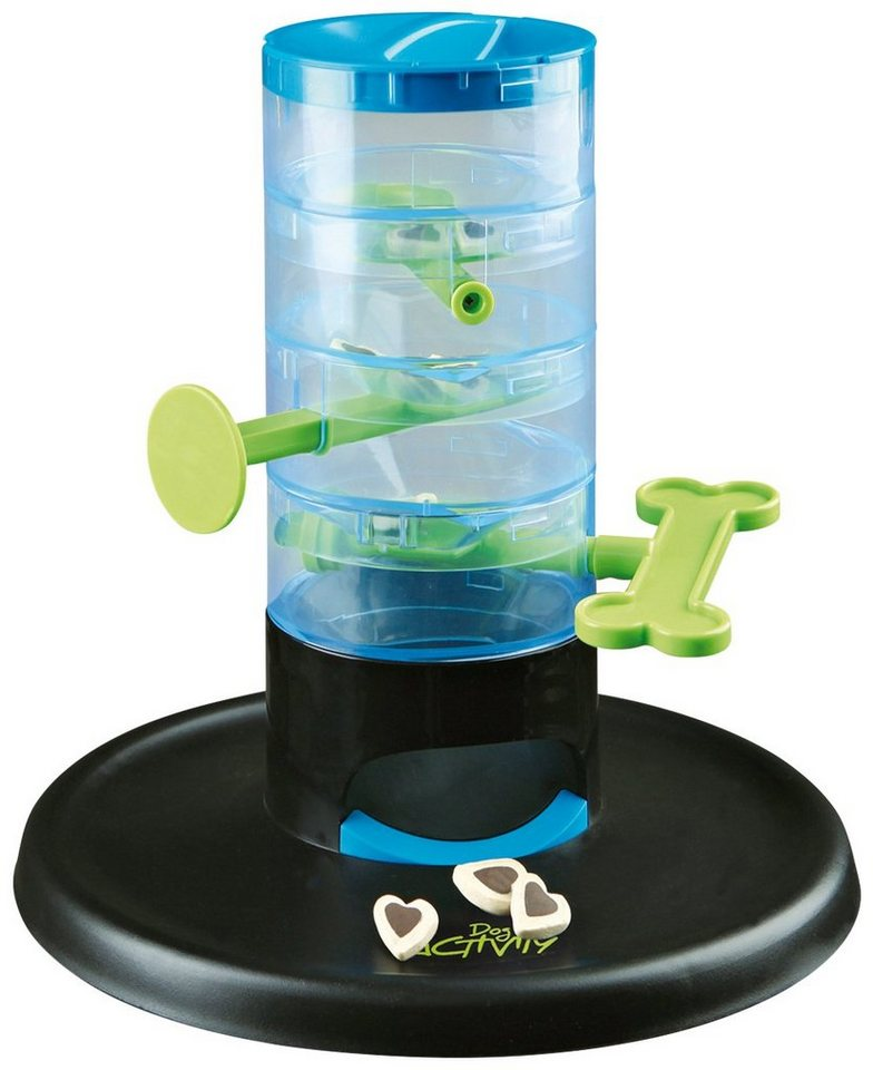 Hundespielzeug »Tricky Tower Strategiespiel« in blau