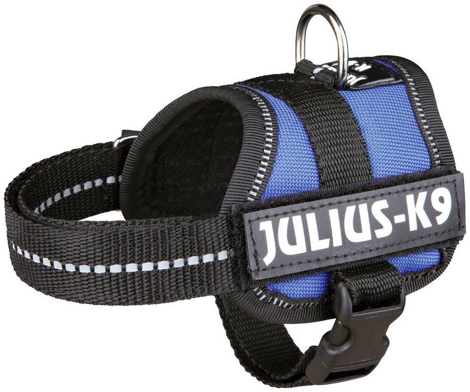 Hunde-Geschirr »Julius-K9 Baby 1/XS«, blau, 30-40 cm in blau