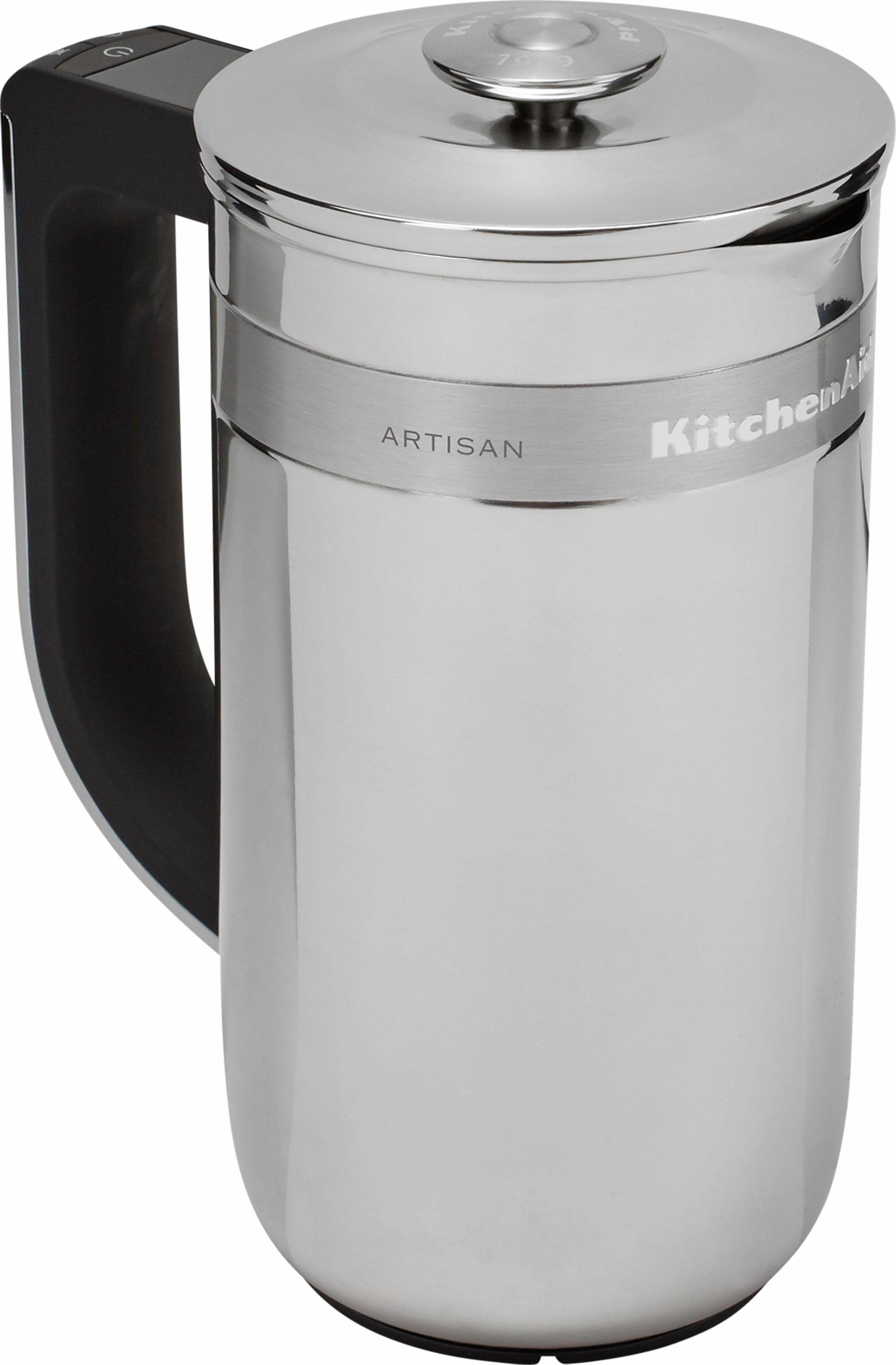 KitchenAid® Kaffee-Pressstempelkanne »Artisan 5KCM0512EES«, mit eingebauter Waage und Timer