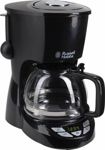 RUSSELL HOBBS Filterkaffeemaschine 22620-56 Textures Plus, 1,25l Kaffeekanne, Permanentfilter 1x4