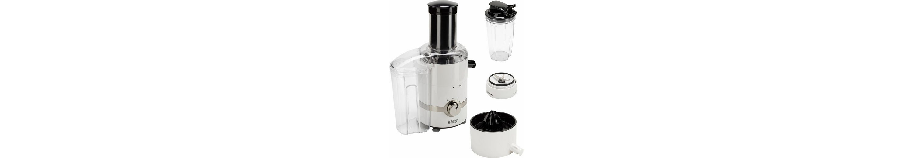 Russell Hobbs 3 in 1 Ultimative Entsafter-Zitruspresse-Smoothie Maker 22700-56, 800 Watt