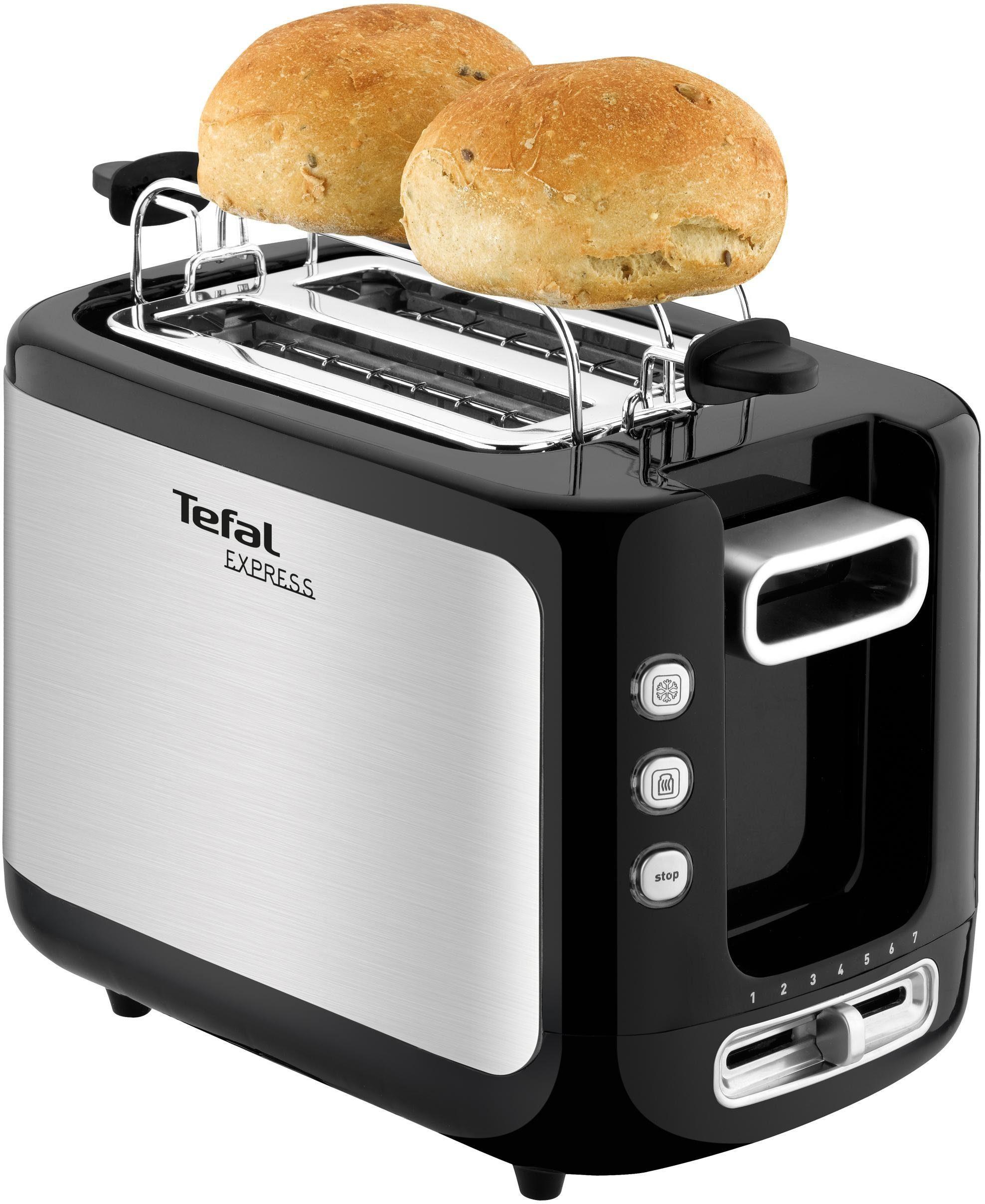 Tefal Toaster TT3650 Express, für 2 Scheiben, 850 Watt