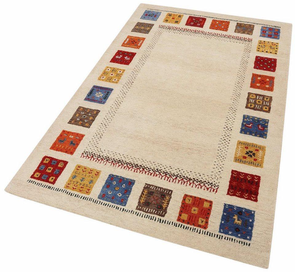Orient-Teppich, Theko exklusiv, »Nomadi 3«, handgetuftet in beige