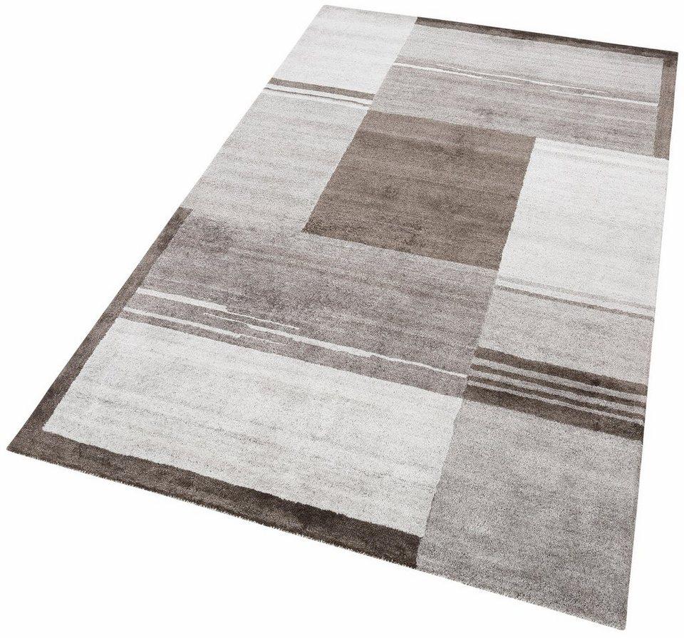 Teppich »Elegance 2«, Theko exklusiv, rechteckig, Höhe 14 mm in braun
