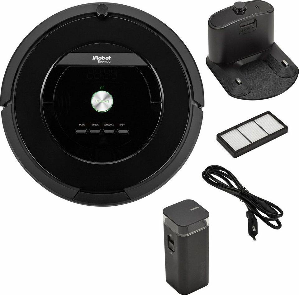iRobot Staubsaug-Roboter Roomba 875, beutellos in schwarz