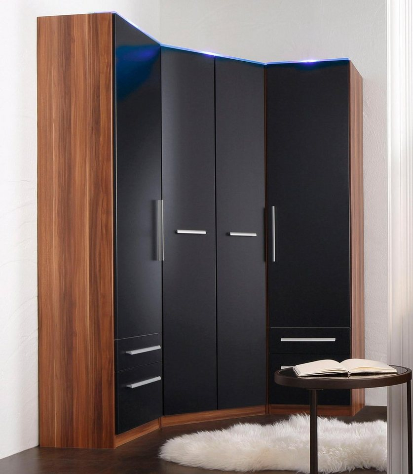 eckkleiderschrank. Black Bedroom Furniture Sets. Home Design Ideas