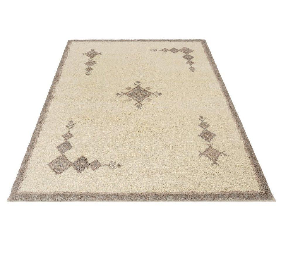 Orient-Teppich, Theko exklusiv, »Agadir 2«, 22500 Knoten/m², echt Berber, handgeknüpft in natur