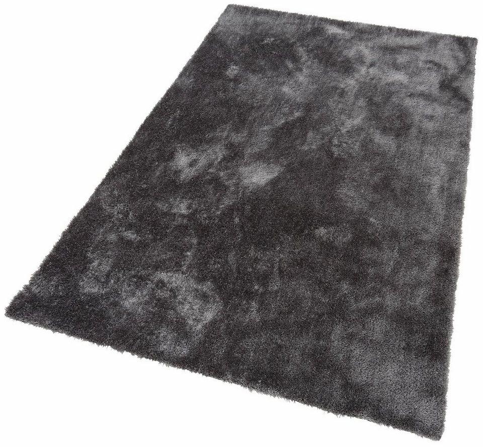 Teppich hellgrau hochflor  Hochflor-Teppich, Bruno Banani, »Dana«, Höhe 30 mm ...
