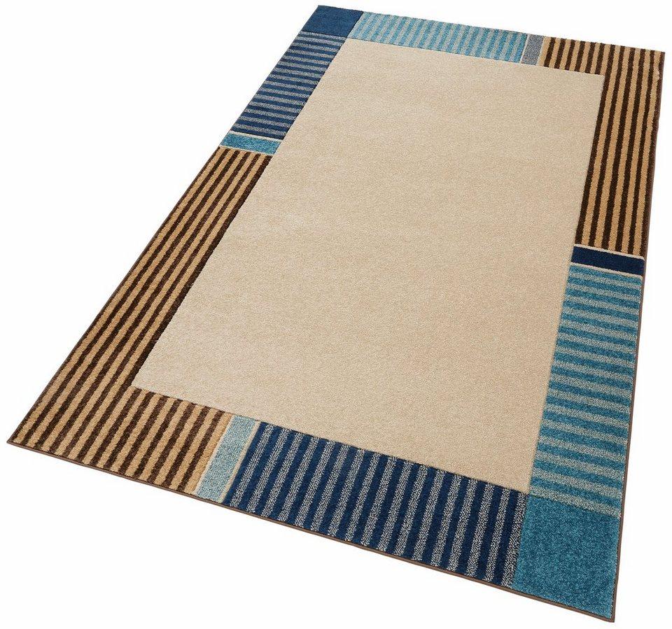 Teppich, my home, »Eike«, gewebt in blau