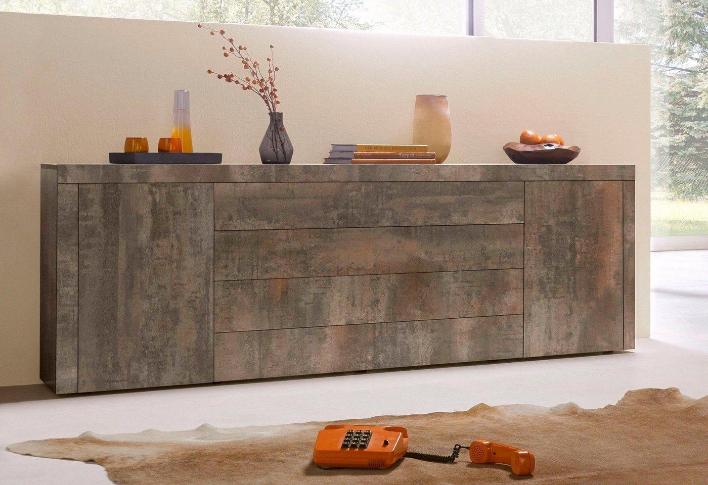 sideboard weiss matt preisvergleiche erfahrungsberichte. Black Bedroom Furniture Sets. Home Design Ideas