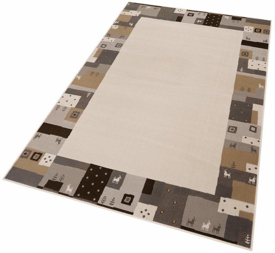 Teppich, my home, »Cara«, gewebt in natur