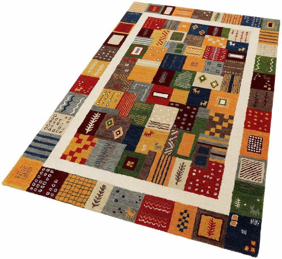 Orient-Teppich, Theko exklusiv, »Nomadi 4«, handgetuftet in multi