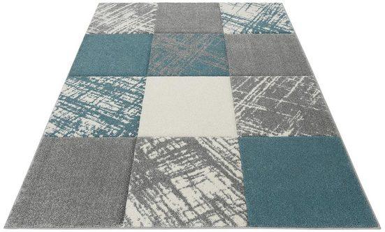 Teppich »Galina«, my home, rechteckig, Höhe 20 mm, mit handgearbeitetem Konturenschnitt
