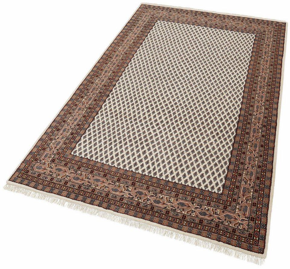 Orientteppich »Chandi Mir«, Theko exklusiv, rechteckig, Höhe 12 mm in creme-braun