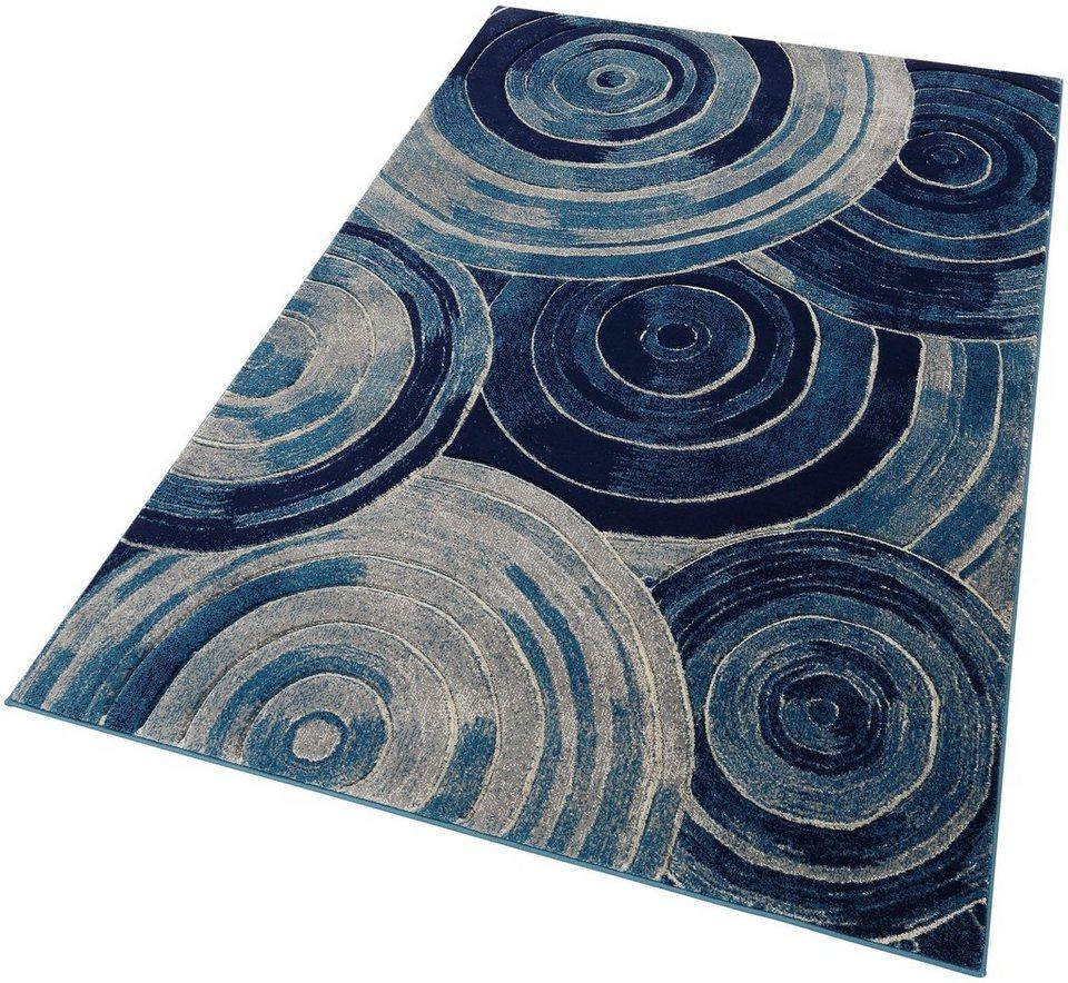 Teppich, Home affaire Collection, »Neda«, gewebt in blau grau