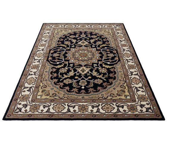 Orientteppich »Nain«, Theko Exklusiv, rechteckig, Höhe 12 mm