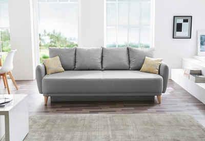Ledersofa hellgrau  Sofa in grau online kaufen | OTTO