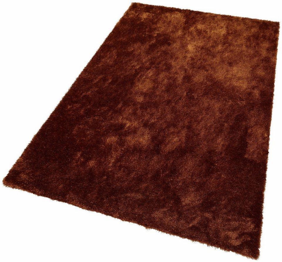 Teppich rund braun  Hochflor-Teppich »Dana«, Bruno Banani, rechteckig, Höhe 30 mm ...