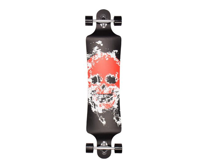 Sportplus Longboard, Extreme Concave Lowrider, »Smokeskull SP-SB-108«