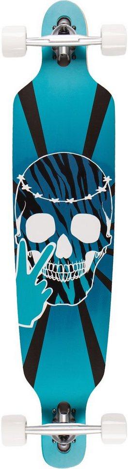 Sportplus Longboard, Concave, »Restinpeace SP-SB-111« in schwarz-blau