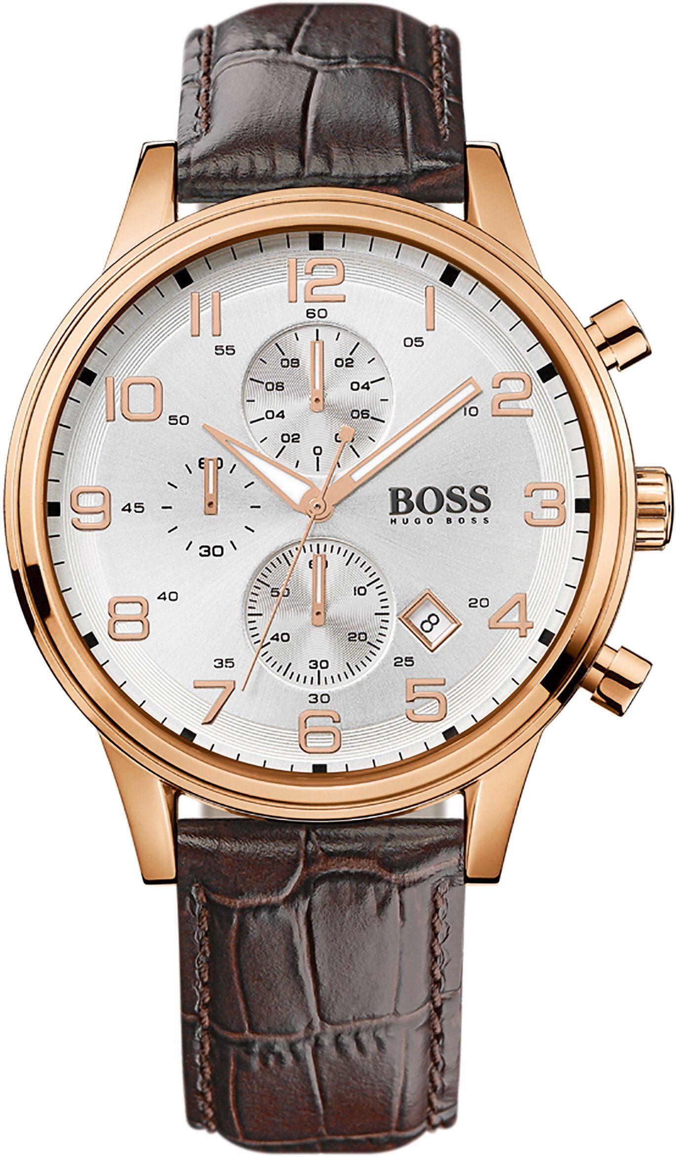 Boss Chronograph »AEROLINER CHRONO, 1512519«