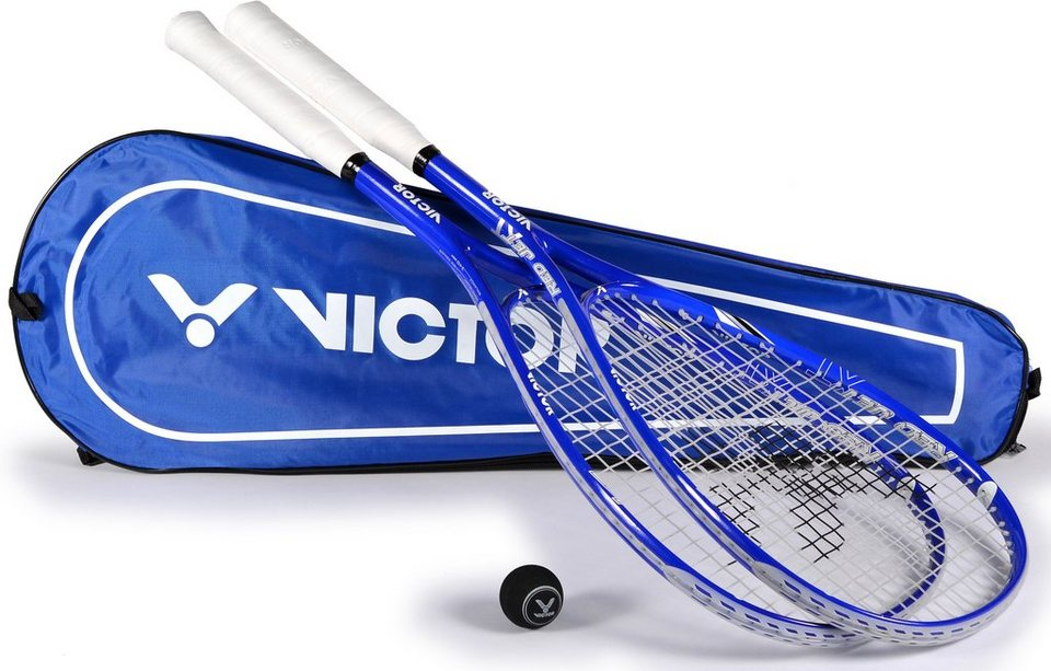 Squash Set, Victor, »Red Jet XT Set« in blau