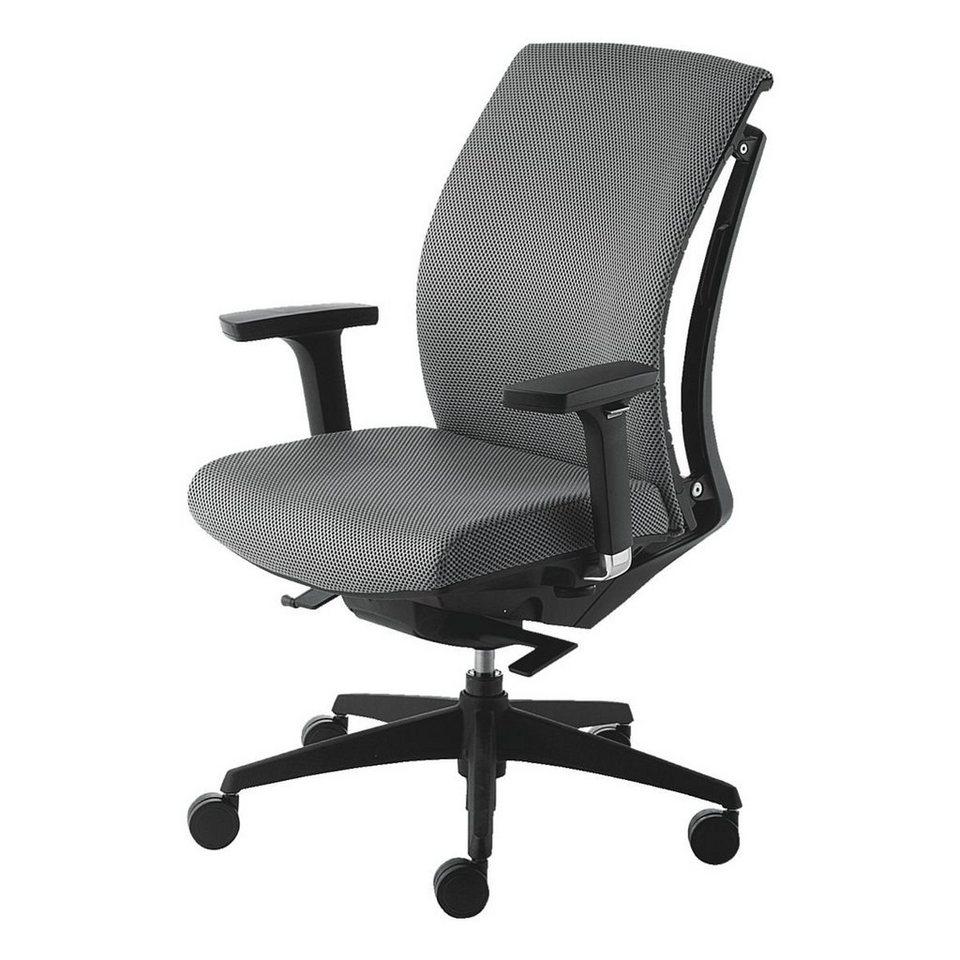 MAYERSITZMOEBEL Bürostuhl »Arti Chair« mit Armlehnen in grau