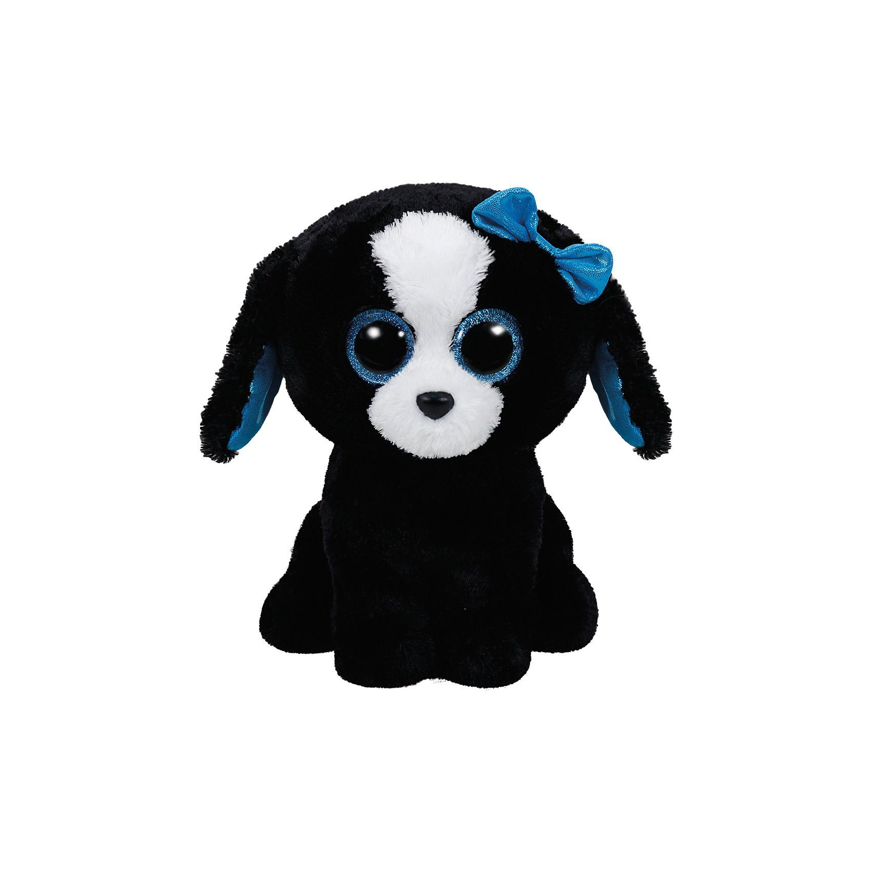 Ty Beanie Boo Tracey Hund schwarz, 24cm