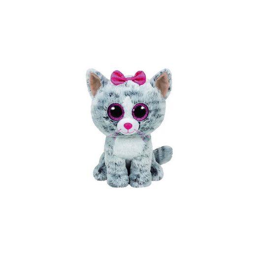 Ty® Beanie Boo Kiki Katze grau, 24cm
