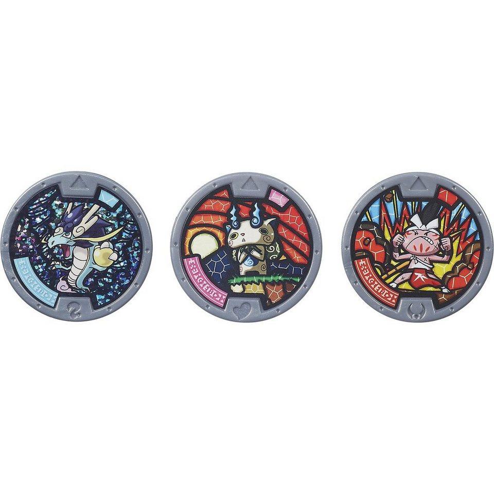 Hasbro Yo-Kai Watch - Sammelmedaillen, 3 Stück