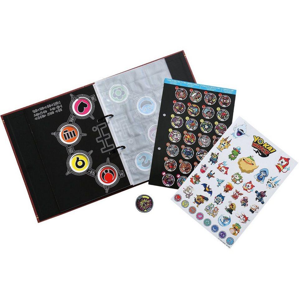 Hasbro Yo-Kai Watch - Sammelbuch incl. 1 Medaille