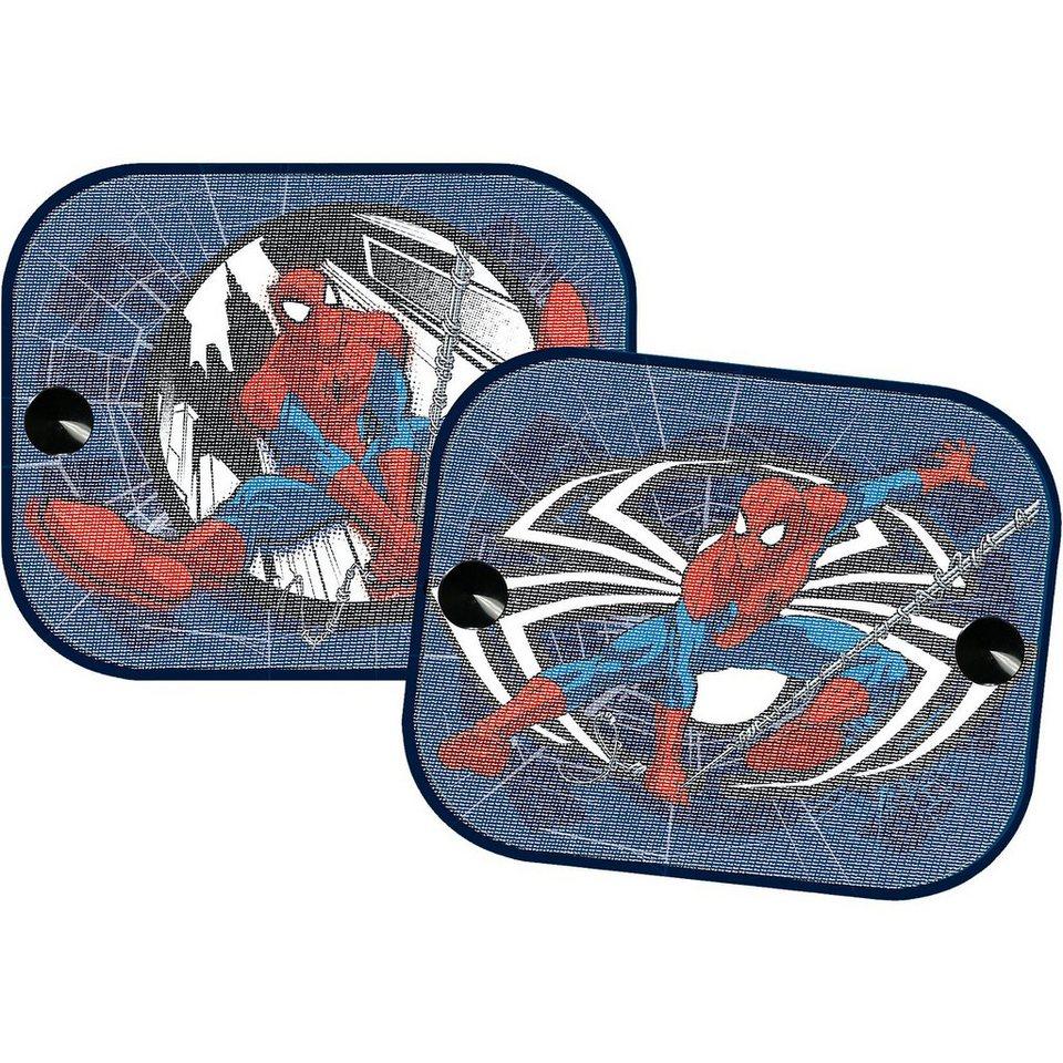 Kaufmann Sonnenschutz für die Seitenscheibe, Spider-Man, 2er-Set in mehrfarbig