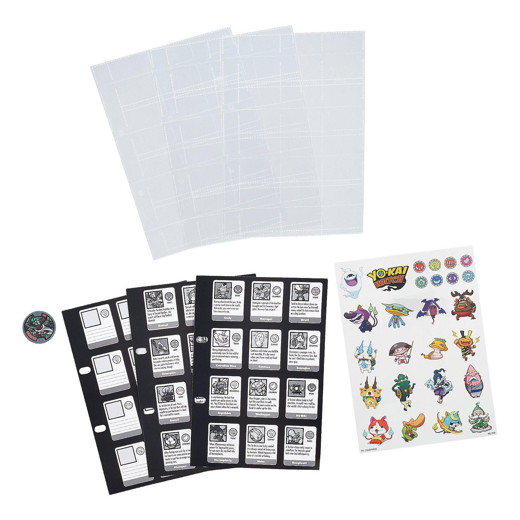 Hasbro Yo-Kai Watch - Sammelhüllen incl. 1 Medaille