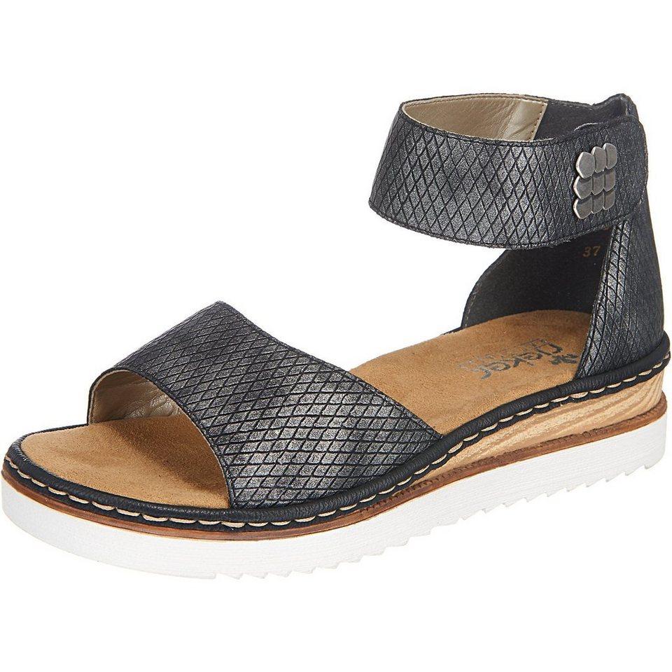 rieker Sandaletten in grau