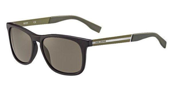 Boss Orange Herren Sonnenbrille » BO 0245/S« in QWJ/70 - braun/braun