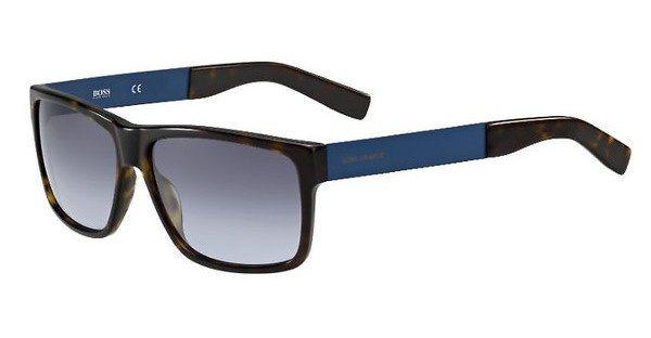 Boss Orange Herren Sonnenbrille » BO 0196/S« in 7Q5/LL - blau/ blau