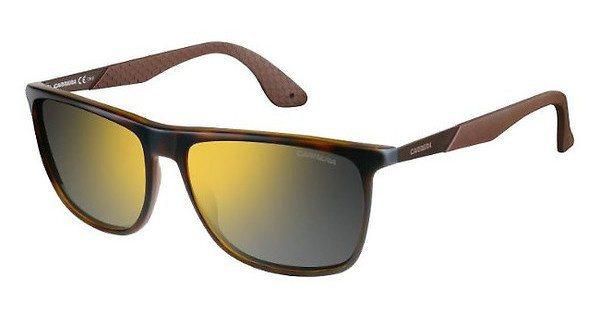 Carrera Herren Sonnenbrille » CARRERA 5018/S« in KQ8/CT - braun/gelb